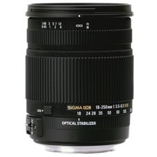 Sigma AF 18-250/3,5-6,3 DC OS HSM Macro for Canon