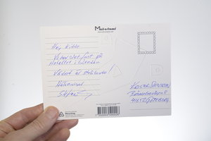 Mail a frame