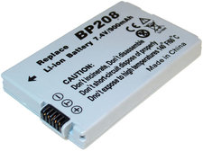 Batteri motsvarande Canon BP-208