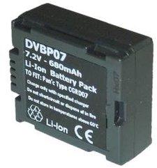 Batteri motsvarande Hitachi DVBP-07|Panasonic CGA-DU07