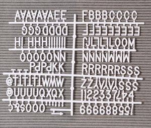FOCUS Letterboard