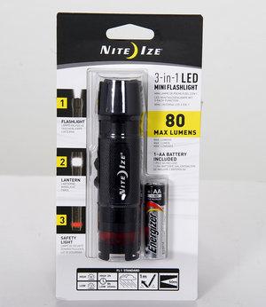 NITEIZE 3-IN-1 LED MINI FLASHLIGHT