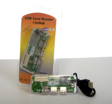 BILORA USB Card Reader + 3xHub