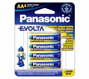 Panasonic Evolta AA 4-pack